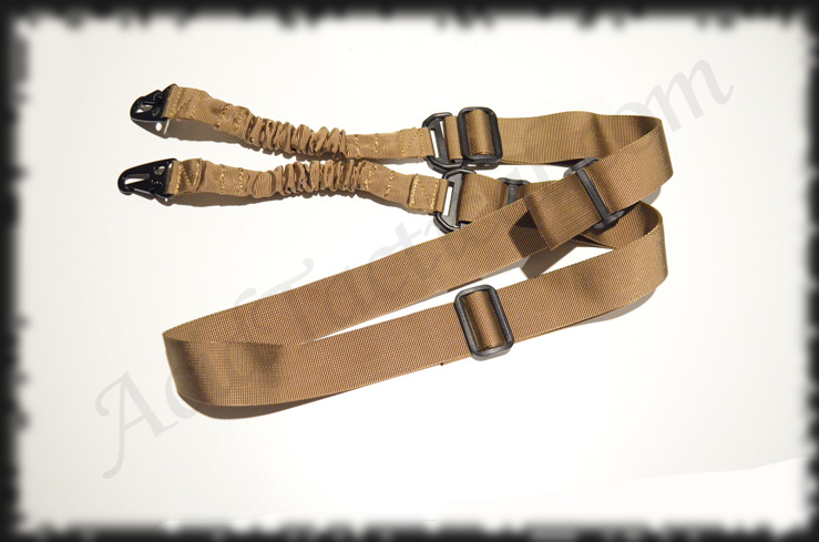 Dark Earth Rifle Sling 2 Two Point Bungee