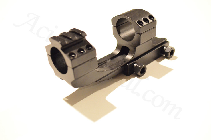 "Cantilever Scope Mount 1"" 25mm Double Ring with interchangeable"