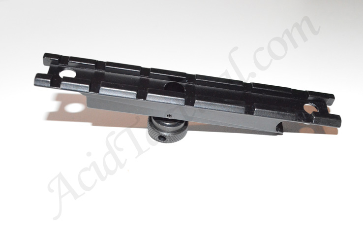 AR15 M4 Carry Handle Flat Top Scope Mount - See-Through