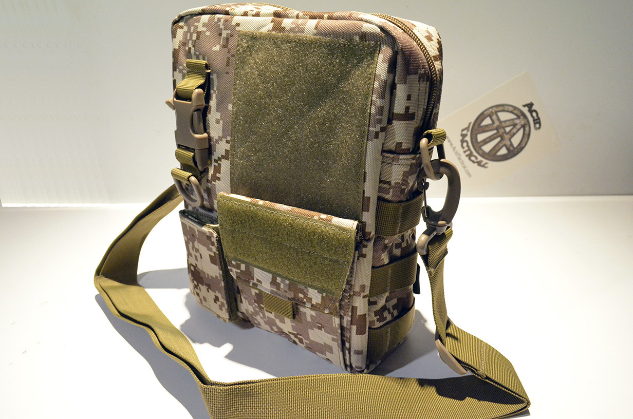 "10"" Medics Bag First Aid utility pouch Molle Equipped - Desert M"