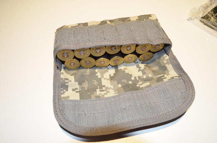 Shotgun Shell holder Tactical MOLLE Hunting ammo pouch ACU