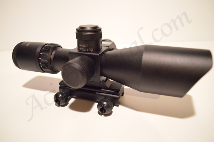 Acid Tactical 2.5-10x40 illuminated Red/Green Scope with Red Dot