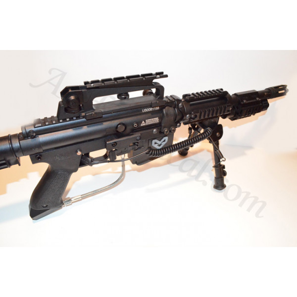 Ar15 M4 Carry Handle Flat Top Scope Mount See Through