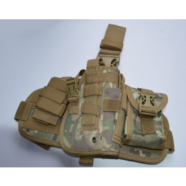 Tactical Drop Leg Thigh Holster Glock Springfield Ruger - Multicam