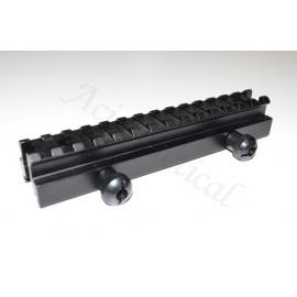 3/4 inch Picatinny Riser Rifle Gun Scope Mount 17 Slot