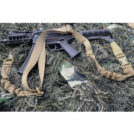 Combo Bungee Rifle / Shotgun Sling (TAN)