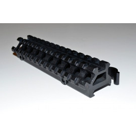 3/4 inch Angled 45 Degree Riser Scope Rifle Mount 13 slot with QD