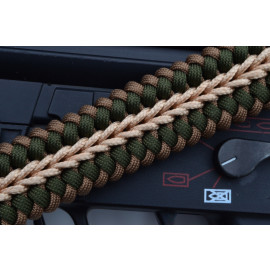 550 Paracord 1 or 2 point Tactical Rifle Gun Sling  - SURVIVALIST