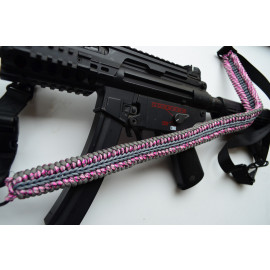 550 Paracord 1 or 2 point Tactical Rifle Gun Sling  - LOLLIPOP