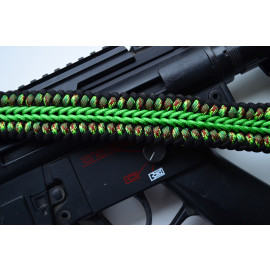 550 Paracord 1 or 2 point Tactical Rifle Gun Sling  - ZOMBIEFIED