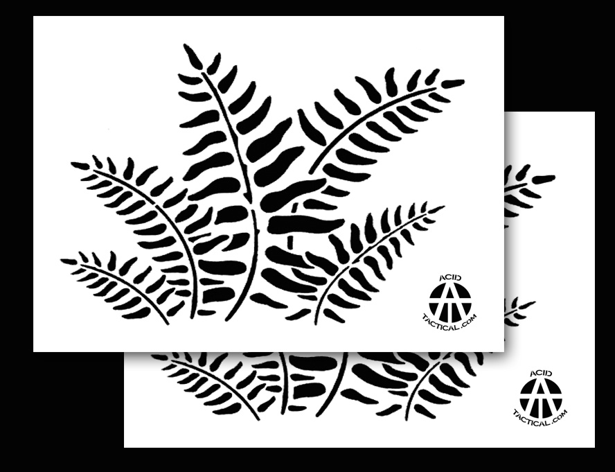 Camouflage Spray Paint Stencils Many Camo Stencil