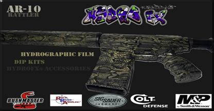 AR10 Rattler Hydrographics