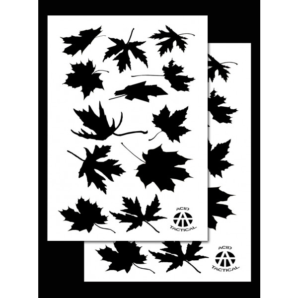 Army Duracoat Camo Stencils 2 Pack Acid Tactical