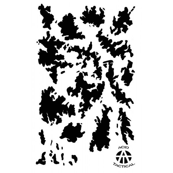 picture about Digital Camo Stencil Printable named Mylar Paint Camouflage Stencils Do it yourself On the lookout Rifle gun Camo Combo 8 PACK