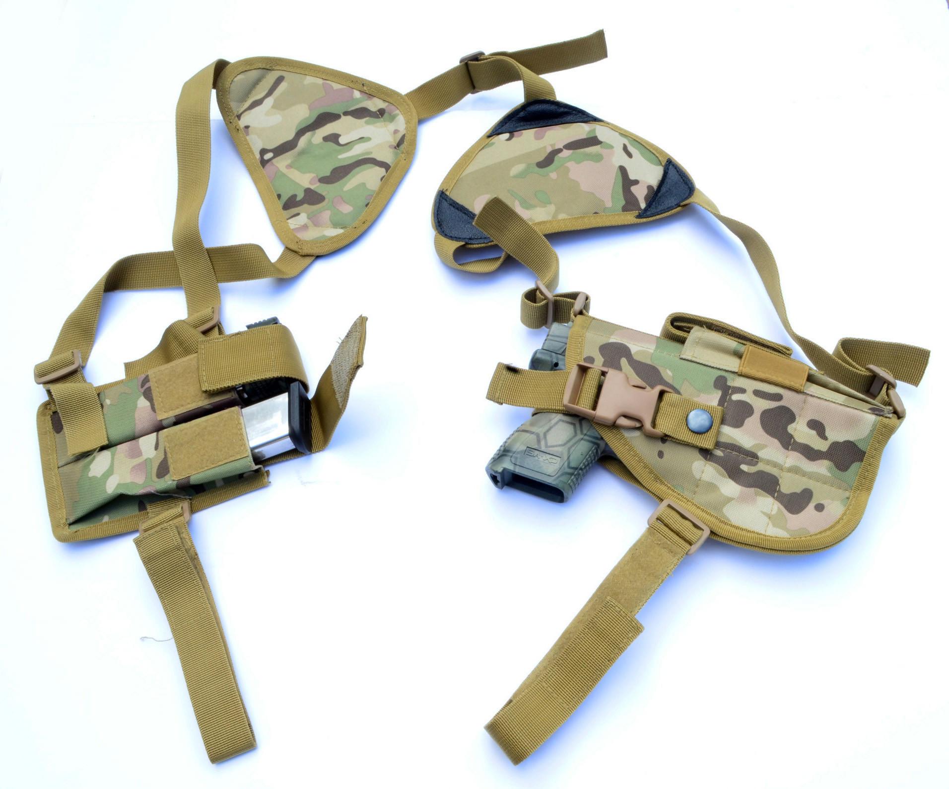 06c4ee106b0e Concealed Carry Gun Holster Walther Ruger XD Glock Pistol Shoulder Holster  MULTICAM
