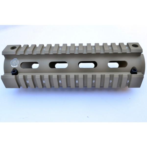 """6.75"""" Quad Rail For Carbine Length AR15 / M4"""