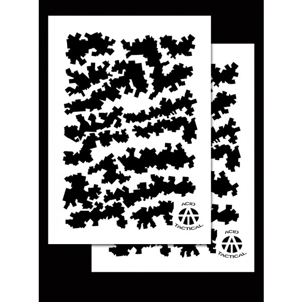 Army Duracoat Camo Stencils 2 Pack Acid Tactical 174