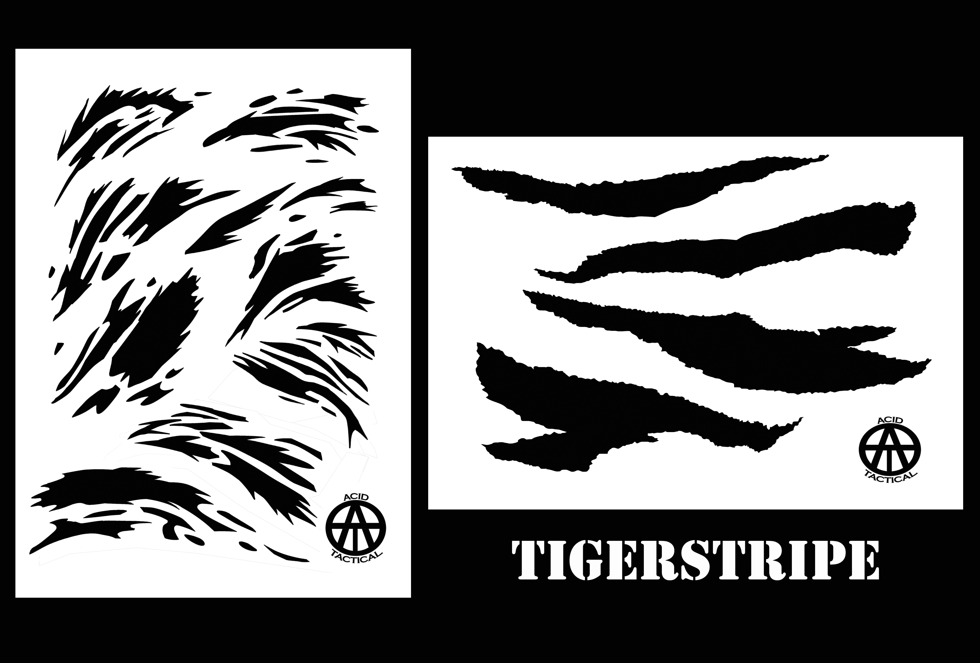 This is an image of Sweet Free Printable Camo Stencils for Guns